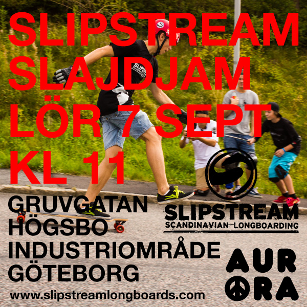 Slipstream Slidejam flyer